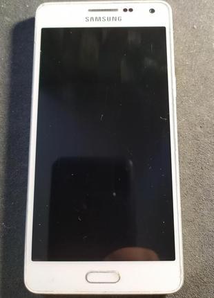 Samsung Galaxy A5 A500H/DS White полностью рабочий в хорошем сост