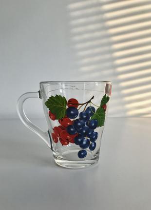 Чашка, прозрачная чашка.