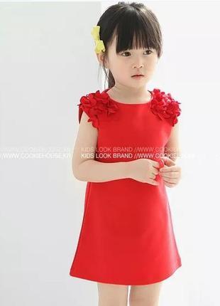 Летнее платье на девочку до 3 лет