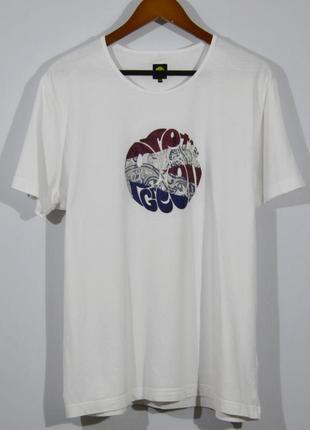 Белая футболка pretty green t-shirt