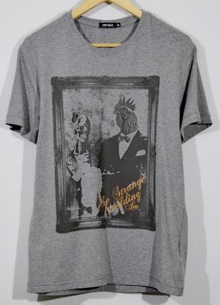 Серая футболка antony morato t-shirt