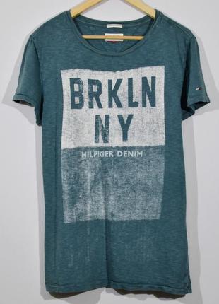 Летняя футболка tommy hilfiger t-shirt