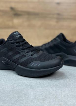 Мужские кроссовки adidas climacool all black