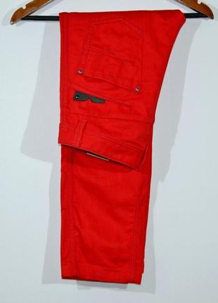 Красные джинсы diesel darron jeans