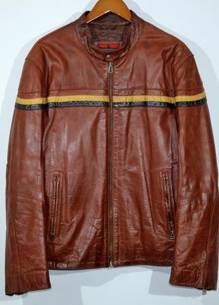 Кожанка mission leather jacket