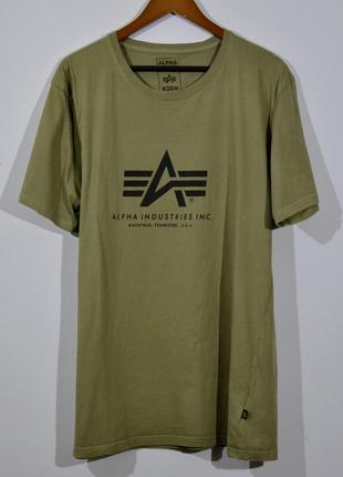 Футболка alpha industries t-shirt