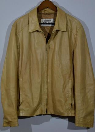 Кожаная куртка wasler gallotti leather jacket