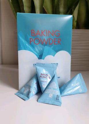 Содовый скраб etude house baking powder crunch pore scrub в уд...