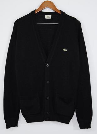 Кардиган lacoste v-neck jumper