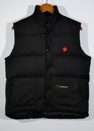 Пуховая жилетка canada goose down vest