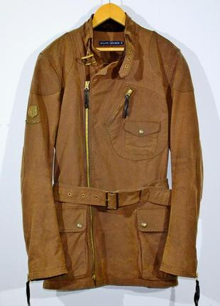 Ваксовая куртка ralph lauren w's waxed motorcycle jacket