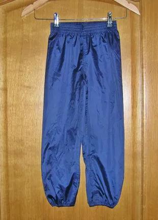 Детские штаны дождевики QUECHUA (Франция). 5 лет. Рост 105 - 114