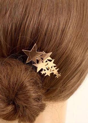 Заколка для волосся, заколка для волос , заколка звезда, звезд...