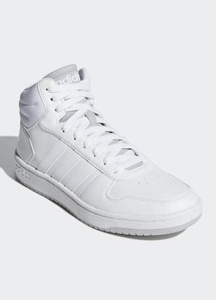 Мужские кроссовки adidas hoops 2.0 mid(артикул:f34813)
