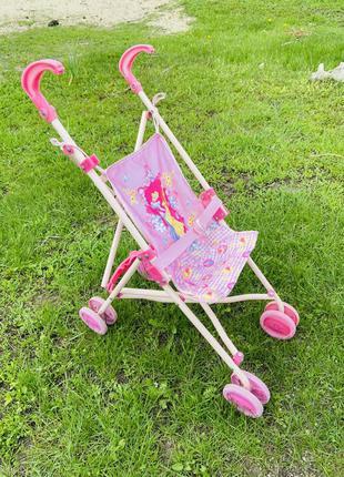Детская коляска до кукол люлька