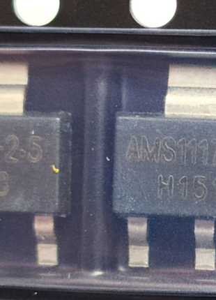 Мікросхема AMS1117-2.5 LM1117 1117 2,5 V 1A стабілізатор (3 штуки