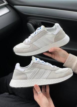 Кроссовки adidas inіki tech white grey