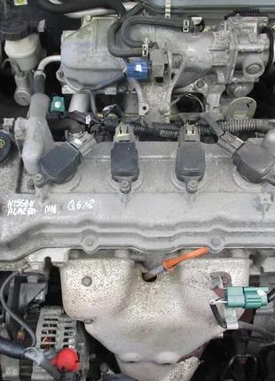 Б/у Двигатель в сборе Nissan Primera P12 1.8