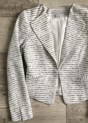 Пиджак блейзер женский h&m с м