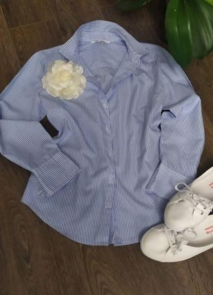 Рубашка в полоску Oodji