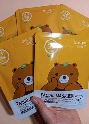 Маска тканнина для обличчя