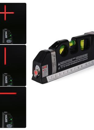 Лазерный уровень со встроенной рулеткой FIXIT LASER LEVELPRO3