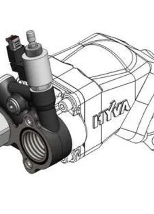 Перепускной клапан by-pass Hyva для поршневых насосов 14740075