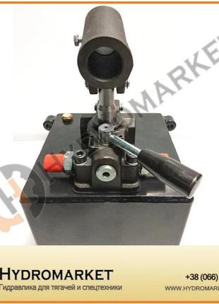 Насос ручной 45  см3/мин + бак 5 л PRB 45/SD