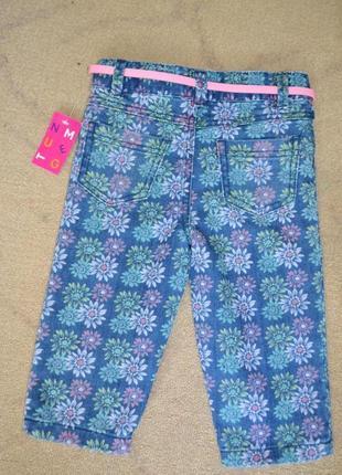 Детские бриджи шорты джинсовые на 2-3 года