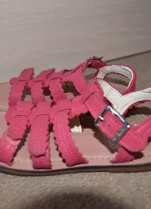 Детские сандали босоножки clarks размер 10.5 18 см стелька