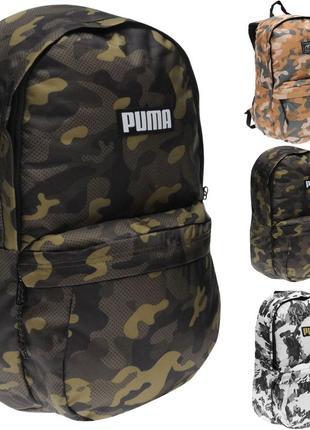 Рюкзак PUMA Academy Backpack Camo Оригинал Городской спортивный
