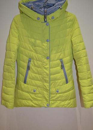 Женская демисезонная курточка размер s