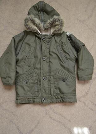 Курточка на мальчика 3 года