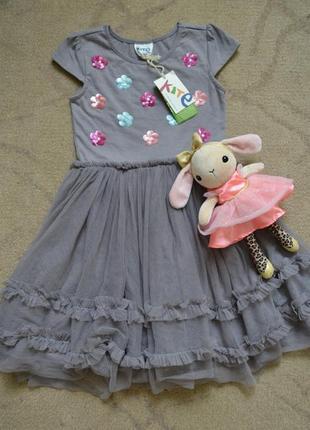 Нарядное платье на девочку 4 лет