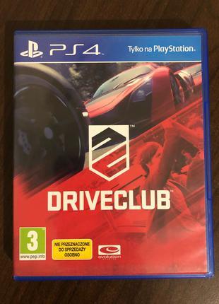 PS4 Drive Club