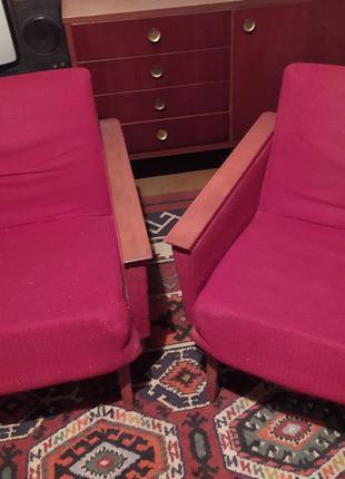Винтажные ретро-кресла на дачу, или реставрацию.