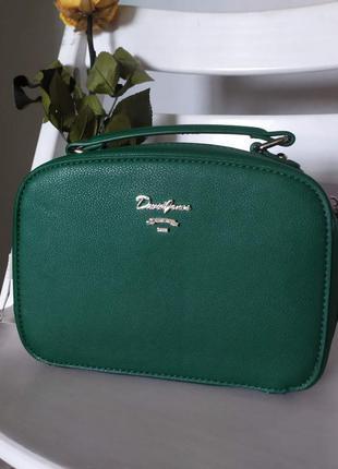 Новая сумка,зеленого цвета,devid jones