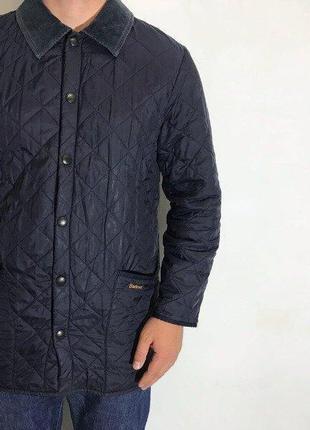 Мужская куртка barbour ( барбур мрр идеал оригинал синяя)