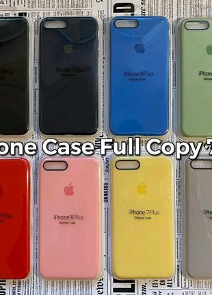 Silicone Case Full Copy - качественный силиконовый чехол