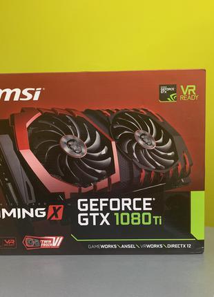 Видеокарта MSI GeForce GTX 1080 TI GAMING X 11G відеокарта