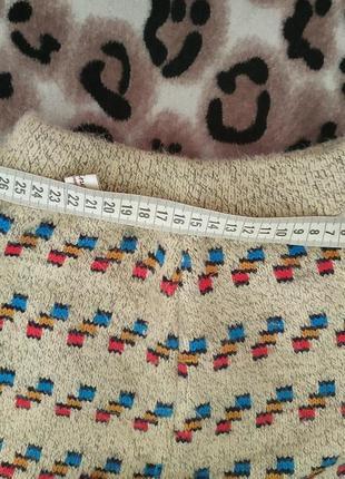 Теплые вязаные штаны для девочек в оч хорошем состоянии