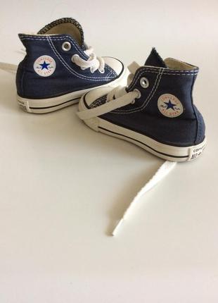 Converse all star детские высокие кеды
