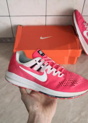 Nike wmns air zoom structure 20 кроссовки бег спорт