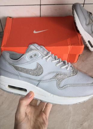 Nike air max 1 se glitter  кроссовки