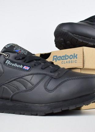 Мужские зимние кроссовки на меху Reebok Classic. 3402.
