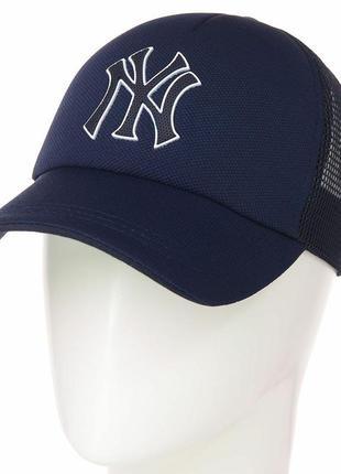 Спортивная летняя кепка бейсболка new yorker ny нью йорк  мужс...