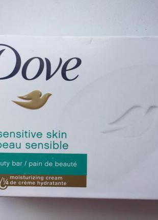 Крем - мыло Dove sensitive для чувствительной кожи, made in USA