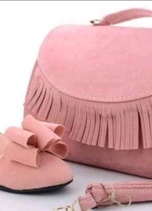Балетки з сумкою