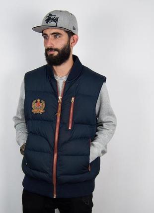 Пуховой жилет polo by ralph lauren пуховик, куртка