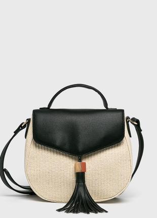 Новая трендовая плетеная из соломки сумка в руках или через плечо